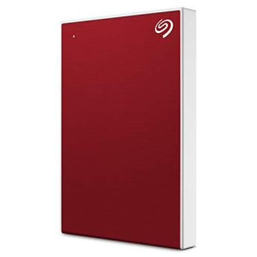 HD Externo Port�til Seagate Backup Plus Slim 1TB USB 3.0 Vermelho STHN1000403