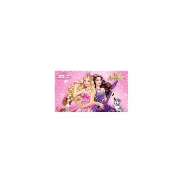 Imagem de Painel De Festa Infantil Em Tecido Tema Barbie 8