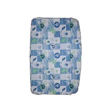 Estofado Capa Banheira Splash Burigotto Peixinho Azul 005