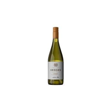 Vinho Santa Rita Heroes Chardonnay 2019 Branco Chile 750Ml