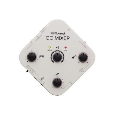 Mixer de Áudio com Interface Go Roland para Smartphones Youtuber Live