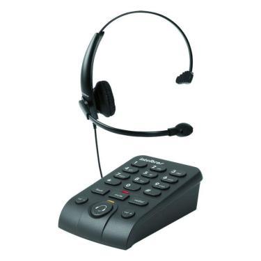 Telefone Headset Intelbras Hsb-50 Para Telemarketing Com Fio 4013330