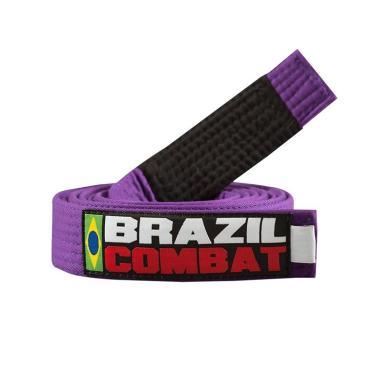 Faixa Roxa Ponta Preta Jiu Jitsu Brazil Combat - A5