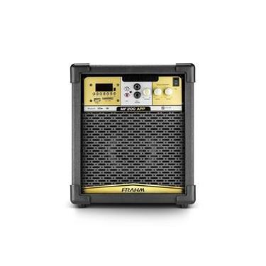 Caixa Amplificada Multiuso Frahm MF200 APP 100w RMS Bluetooth, USB, SD Card e FM