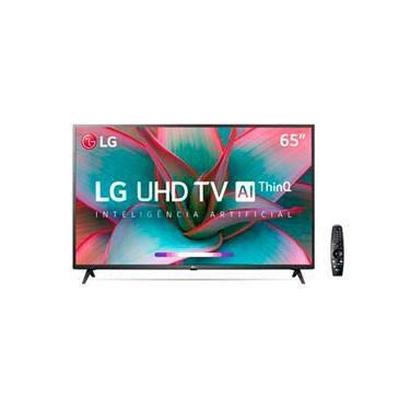 "Smart TV 4K LG LED 65"" com Controle Smart Magic e Wi-Fi - 65UN7310PSC"