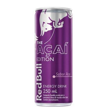 Energético Red Bull The Açaí Edition com 250ml 250ml