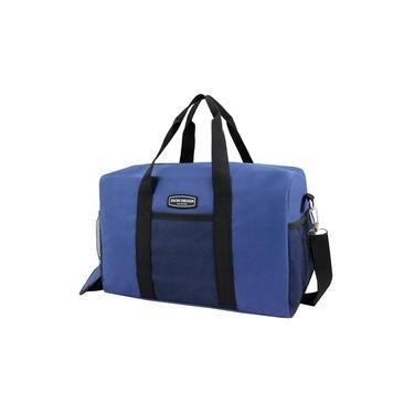 Imagem de Bolsa de bordo ou academia urbano Jacki Design azul