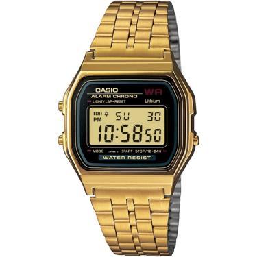 ac58daacf99 Relógio Casio Vintage Unissex Dourado A159WGEA-1DF