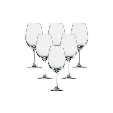 Jogo De Taças De Vinho Tinto Ivento Schott Zwiesel Cristal 506 Ml - Zwilling