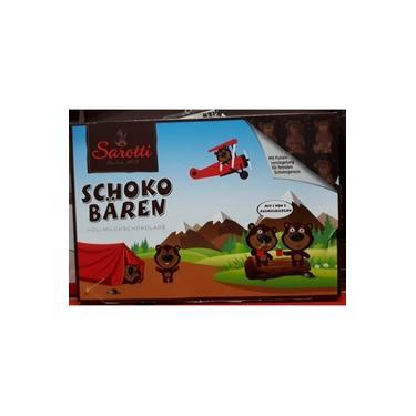 Chocolate Ao Leite Alemão Schoko Baren Sarotti - 2x100g