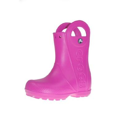 Bota Infantil Crocs Handle It Rain 12803-670 26 Rosa