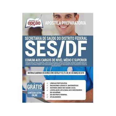 Imagem de Apostila Ses Df - Secretaria De Saúde Do Distrito Federal