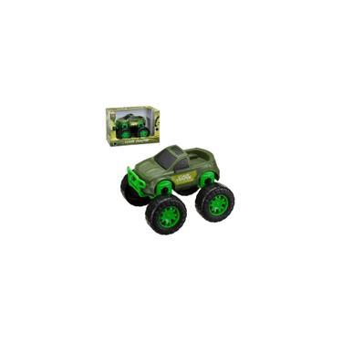 Imagem de Brinquedo Carrinho Pick-up Caminhonete Carrão da roda gigante Monstro Máquina de Guerra Car Wars comandos - Super Carro