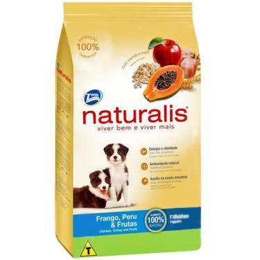 Ração Total Naturalis Frango, Peru e Frutas para Cães Filhotes - 15 Kg