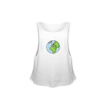 Camiseta Regata Sport Fit Terra Draw