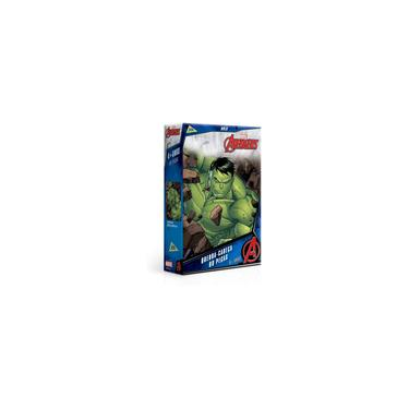 Imagem de Os vingadores - hulk - quebra cabeca 60 pecas toyster