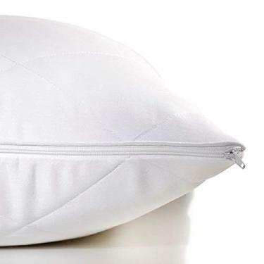 Imagem de Protetor de Travesseiro Buddemeyer 50X90Cm Branco Nuit II Branco
