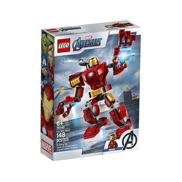 Lego Super Heroes Vingadores - Robô Iron Man