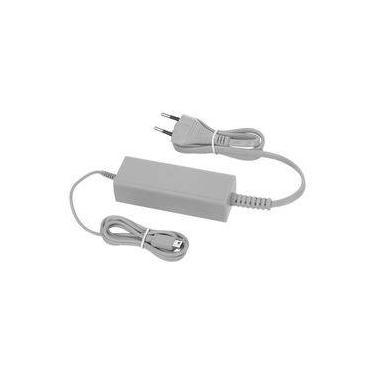 Carregador Nintendo Wii U Para Game Pad Fonte 100-240v Cinza