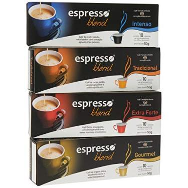 Kit Cápsulas de Café Espresso Blend - Compatíveis com Nespresso® - 40 un.