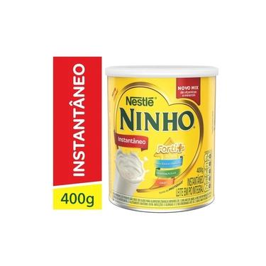 Leite Po Instantaneo Integral Ninho 400g