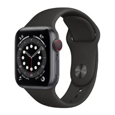 Imagem de Relógio Apple Watch Series 6 LTE Cinza M02Q3.