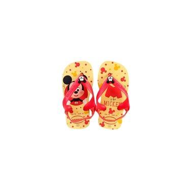 Imagem de Chinelo Havaianas Infantil com Elástico Baby is for Mickey Disney