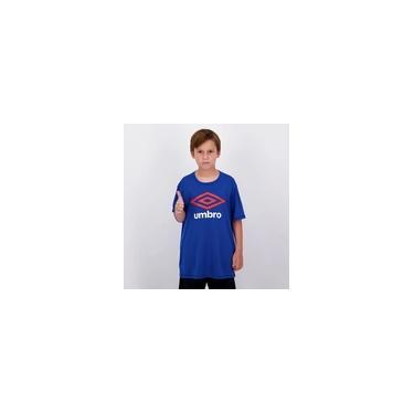 Imagem de Camiseta Umbro Basic UV Juvenil Azul