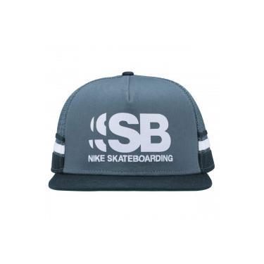 Boné Aba Reta Nike SB Cut - Snapback - Trucker - Adulto - Verde Verde e709a38b6d6