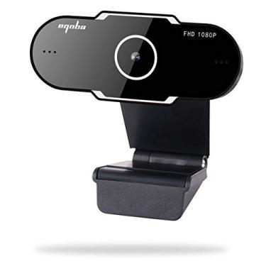Eqoba Webcam Full HD 1080p USB 2.0, com Microfone Embutido