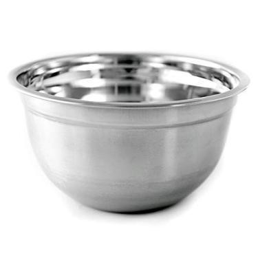 Tigela Mixing Bowl Aço Inox Gourmet Mix Prata 26Cm