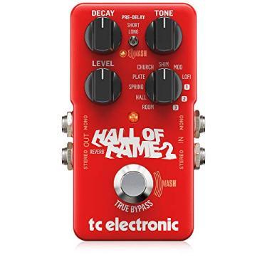 Imagem de Pedal Reverb para Guitarra Hall Of Fame 2 Tc Electronic