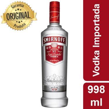 Vodka Nacional Smirnoff - 998ml