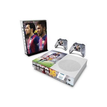 Skin Adesivo para Xbox One Slim - Fifa 16