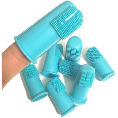 H&H Pets Cão Escova de Dentes de Dedo melhor animal profissional.