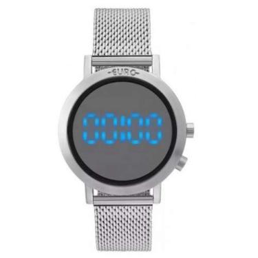 b3129665437 Relógio Feminino Euro Fashion Fit EUBJ3407AB 3P - Prata