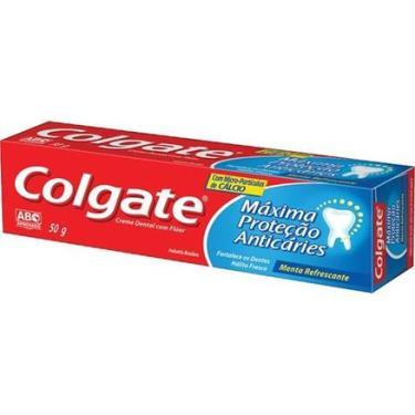 Creme Dental Tradicional Colgate Maxima Proteção Anticaries 50g COLGATE