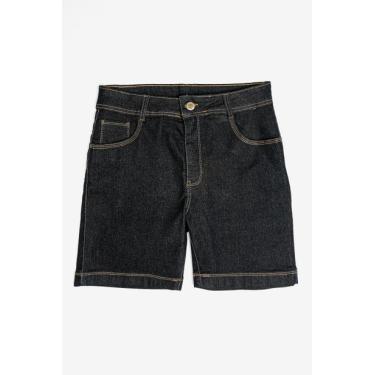 Bermuda Jeans Plus Size Feminina Jezzian