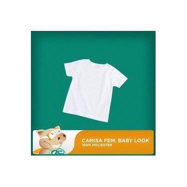 78dffa2663 Camisa Feminina Baby Look ¿ Tamanho Gg