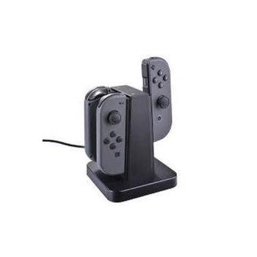 Carregador Para Controle Nintendo Switch Joy Dock De Carregamento 4 Em 1 Charge Com Led Original Knu