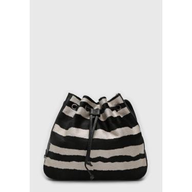 Bolsa Santa Lolla Zebra Preta/Off-White Santa Lolla 0452.2ED9.02E1.00AA feminino