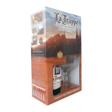 Kit Cerveja La Trappe Witte 1 Grf 750Ml + 1 Taça