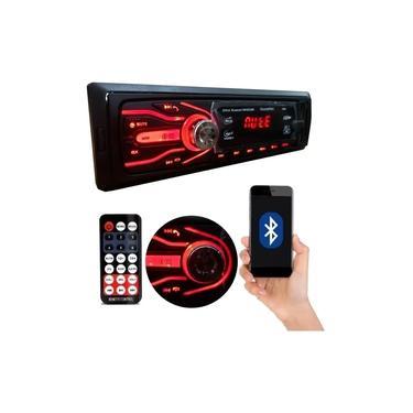 Imagem de Aparelho Som Mp3 Carro Automotivo Bluetooth Pendrive Rádio