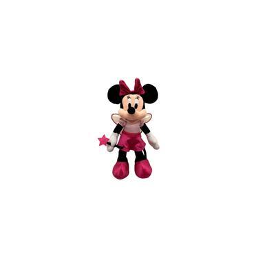 Imagem de Pelúcia Minnie Mouse Fada Madrinha Rosa Disney - Long Jump