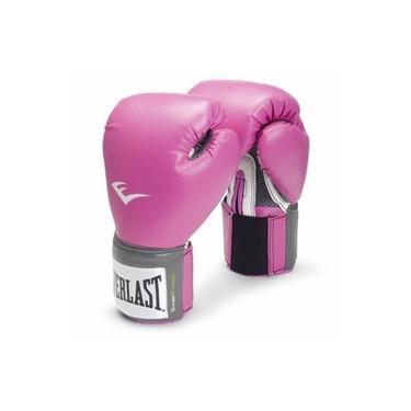 Luva de Boxe Everlast Pro Style Rosa