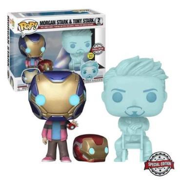 Imagem de Funko Pop! - Morgan Stark & Tony Stark (2 Pack)