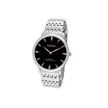 ab65d6144d91f Relógio de Pulso Masculino Magnum Shoptime   Joalheria   Comparar ...