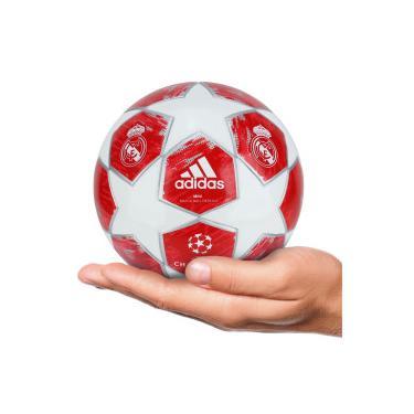 Minibola de Futebol de Campo adidas Finale 18 Real Madrid - BRANCO VERMELHO  adidas 1f5e85937f433