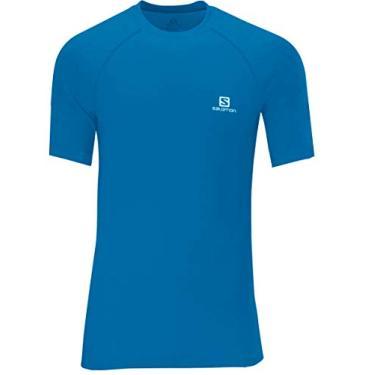 Salomon, Camiseta Masculina Hybrid SS Tee, Homens P
