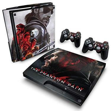 Skin Adesivo para PS3 Slim - Metal Gear Solid 5: The Phantom Pain